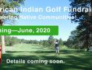 2020 American Indian Golf Fundraiser